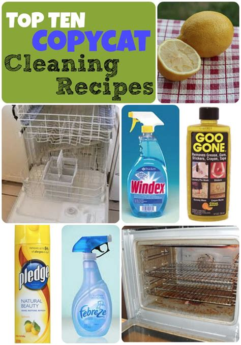 Make Your Own Daily Shower Cleaner by Top 10 Copycat Cleaner Recipes The Repo