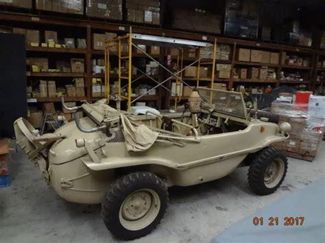 vw schwimmwagen for sale 1944 volkswagen schwimmwagen listed on ebay for 180k