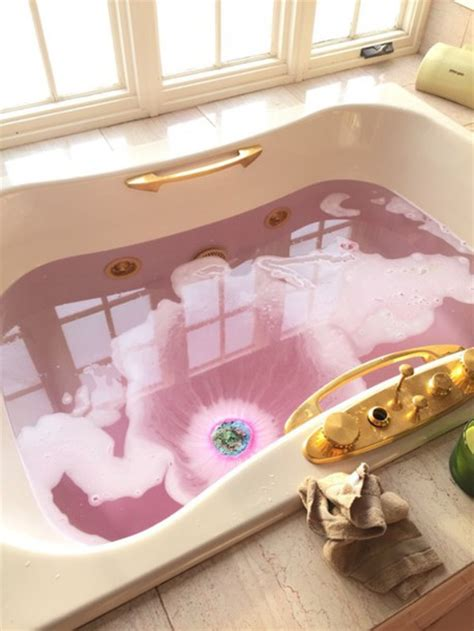 Shop Tub Home Accessory Pink Gold Home Decor Bath Bathroom
