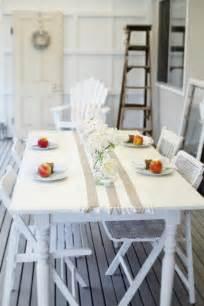 cottage coastal style coastal decor table by