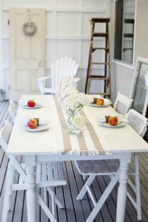 cottage coastal style coastal decor table by