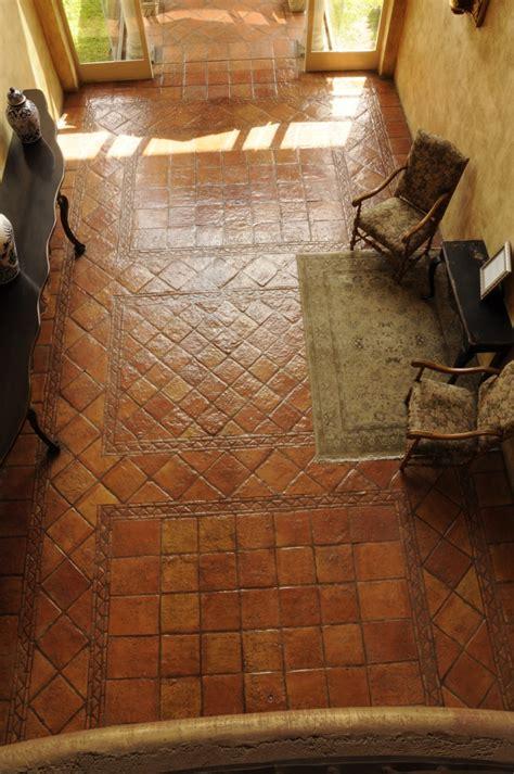 Handmade Terracotta Floor Tiles - terracotta tile on terracotta floor quarry