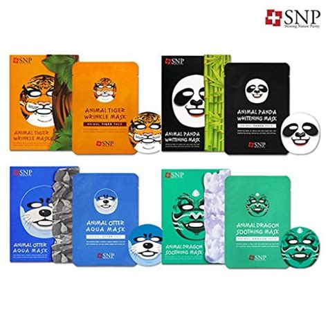 Best Quality Tiger Mask Snp Animal Mask Masker Binatang 10 korean masks to try now time out hong kong