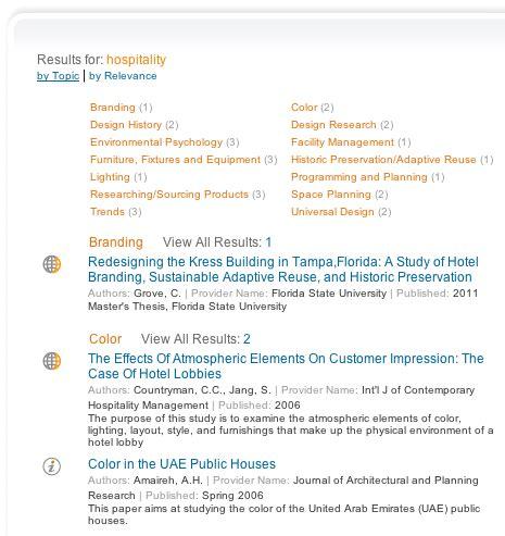 interior design research tools iida knowledge center
