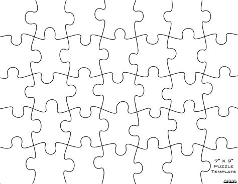 template for puzzle pieces free scroll saw patterns by arpop jigsaw puzzle templates