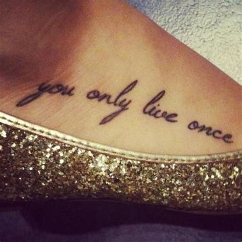 tattoo ideas you only live once yolo you only live once i want it otros
