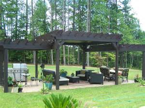 pergolas with roof 3 tiered pergola with tin roof sexton property services