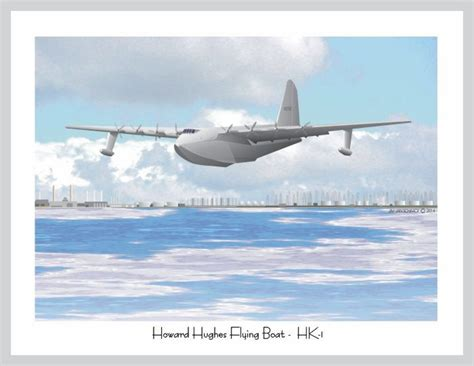 flying boat hughes aircraft world war 2 aircraft historic hollywood art by jim van