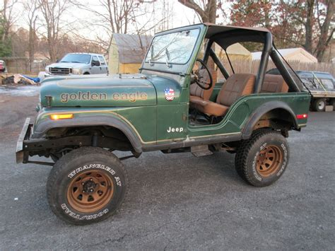 1979 Amc Jeep Cj 5 Golden Eagle Cj5 4x4 Lifted For