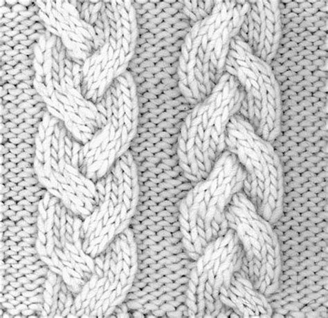 knit braid pattern fiber space august 2012