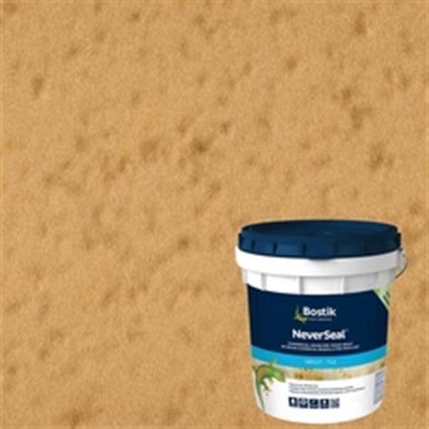 bostik neverseal linen pre mixed commercial grade grout 9lb 100077577 floor and decor