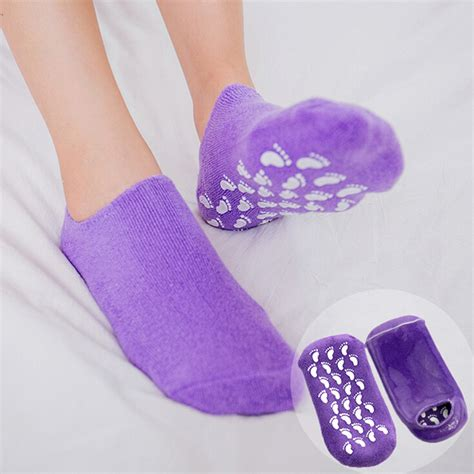 Spasensials Moisturizing Socks And Gloves by 1pair Whitening Exfoliating Foot Mask Gloves Spa Gel Socks