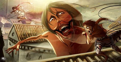 8 Anime Like Attack On Titan by Attack On Titan Eren S By Reicheran On