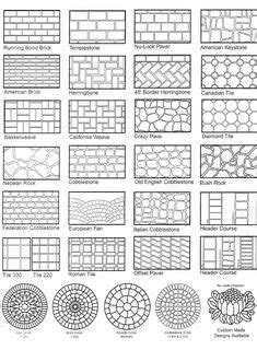 mosaic hatch pattern stacked stone hatch arquitetura pinterest
