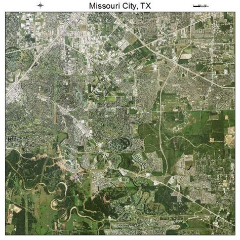 missouri city texas map aerial photography map of missouri city tx texas