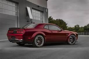 Dodge Challenger Pics 2018 Dodge Challenger Hellcat Widebody Revealed