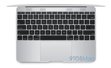 Keyboard Air apple s next major mac revealed the radically new 12 inch macbook air 9to5mac