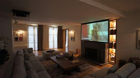 Installation Ecran Videoprojecteur by Installation Home Cin 233 Ma Motoris 233 Es Lift 233 Cran De Projection