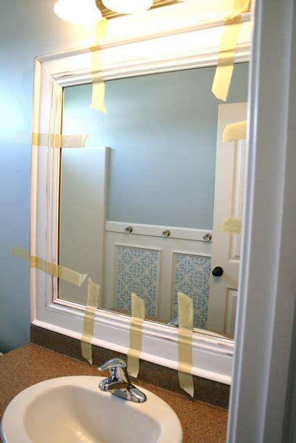 Best Place To Buy Bathroom Mirrors 25 Best Ideas About Crown Molding Mirror On Half Bathroom Remodel Half Bathrooms