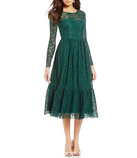 Sleeve Lace Midi Dress papell sleeve lace midi dress dillards