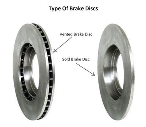 Car Rotor Types by Performance Brake Brake Rotor Structure Vane Types