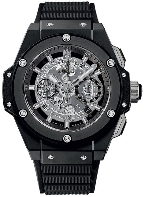 Hublot Senna Silver Black 701 ci 0170 rx hublot king power unico black magic
