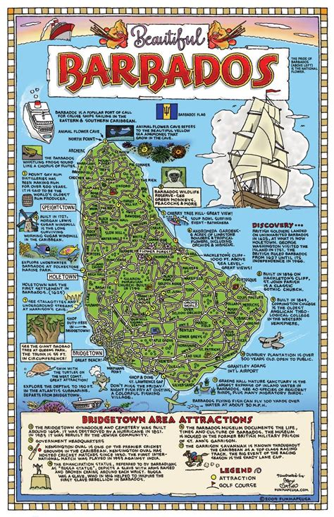 Search Barbados Large Detailed Tourist Map Of Barbados Barbados Large Detailed Tourist Map Vidiani