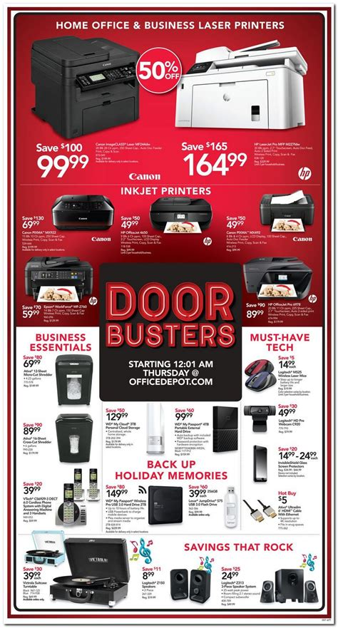 office depot coupons black friday office depot black friday ads sales and deals 2015