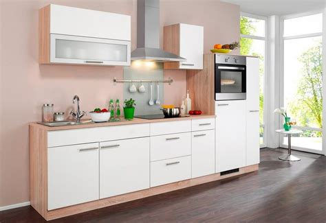 Küchenzeile Kaufen by K 252 Chenzeile 187 Montana 171 Mit Elektroger 228 Ten Breite 290 Cm