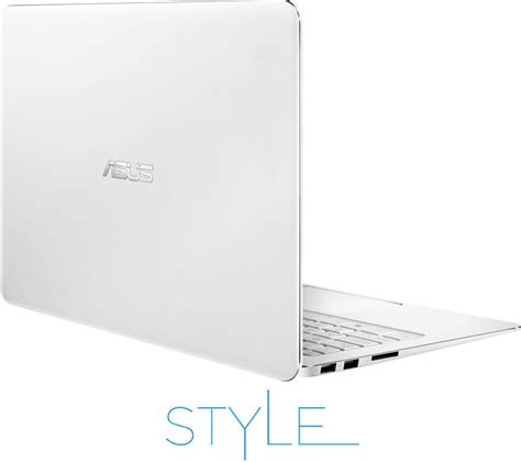 Laptop Asus White asus zenbook ux305 13 3 quot laptop white office 365 personal livesafe unlimited 2016