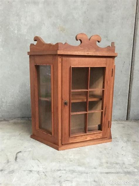 comprar alacena vitrina cocina alacena s xx en madera de roble comprar
