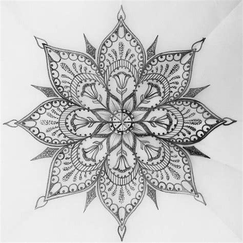 intricate design tattoos best 20 half mandala ideas on mandala