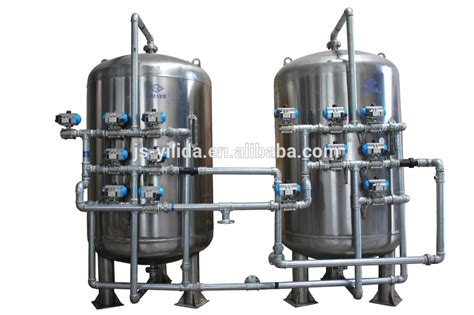 Multimedia Filter integrated domestic water treatment plant sand filter and