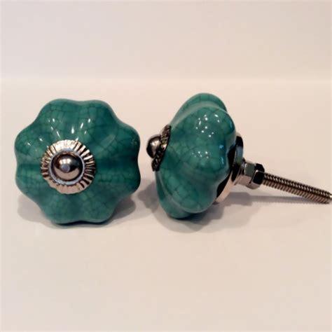 Teal Knobs by Teal Blue Green Porcelain Cabinet Knobs Dresser Drawer Pulls Dwyer Home Collection