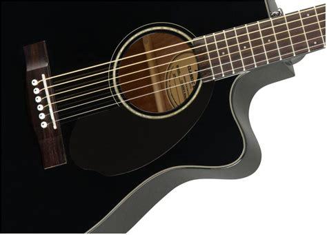 Gitar Akustik Elektrik Model Apx Black fender cc 60sce acoustic electric guitar black
