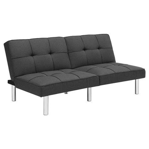 futon rost futon grey linen room essentials target