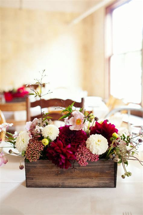 wood boxes for centerpieces 1000 ideas about planter box centerpiece on