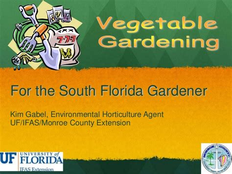 u vegetables florida vegetable gardening for the south florida gardener