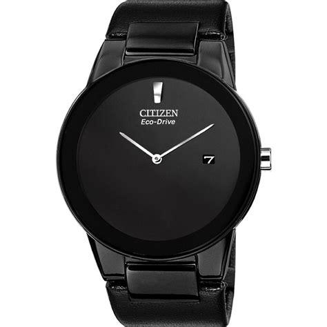 citizen eco drive au1065 07e s axiom all black