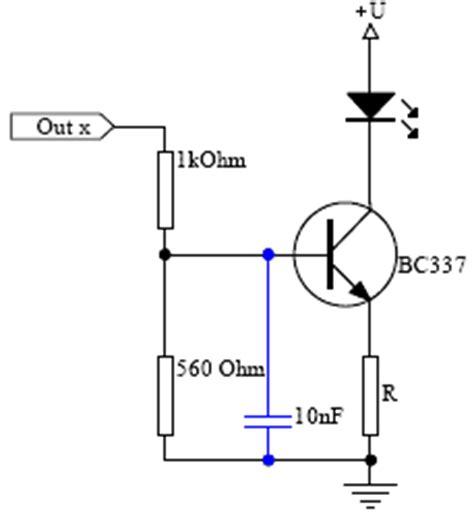 bipolar transistor vorwiderstand picalic led treiberschaltungen