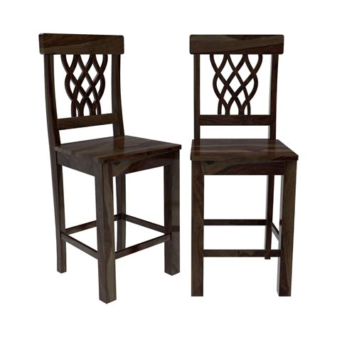 portland pineapple back counter height dining chair