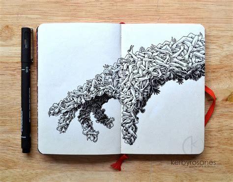 Handmade Artwork - handmade illustratd design and visual inspiration