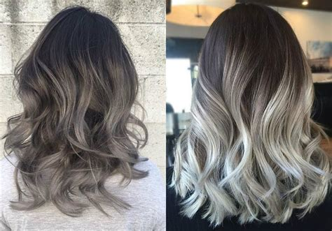 Hairstyles With Grey Ombre | magnifying ombre grey hair colors pretty hairstyles com