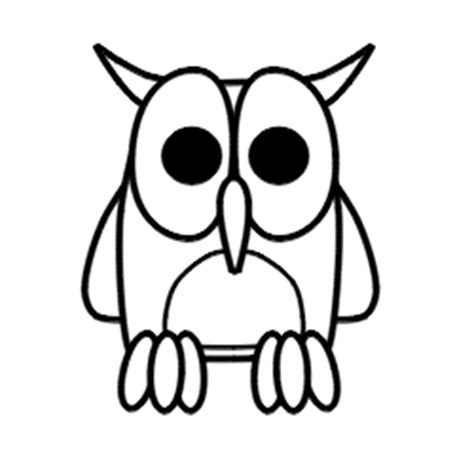 tutorial menggambar owl cara menggambar burung hantu hakuna matata