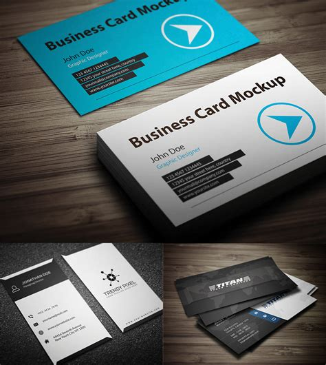 Business Card Template Psd Isometric by 140 Hi Res Free Business Card Mockup Psd Templates