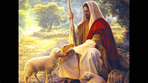 imagenes de jesus buen pastor para imprimir jes 250 s es mi pastor canta luis musica cristiana youtube