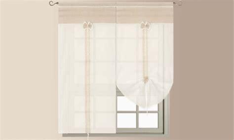 tende per porta finestra coppia di tende shabby chic groupon goods