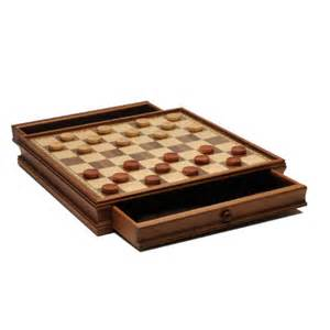 staunton chess checkers set weighted pieces