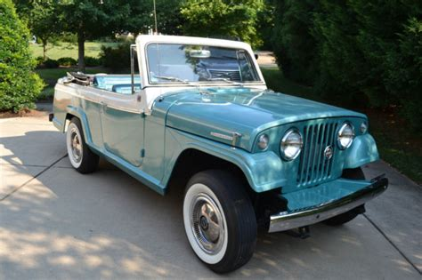 jeep convertible 1969 jeep jeepster convertible original condition
