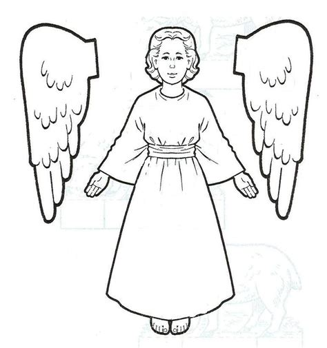 free printable angel coloring for your kids
